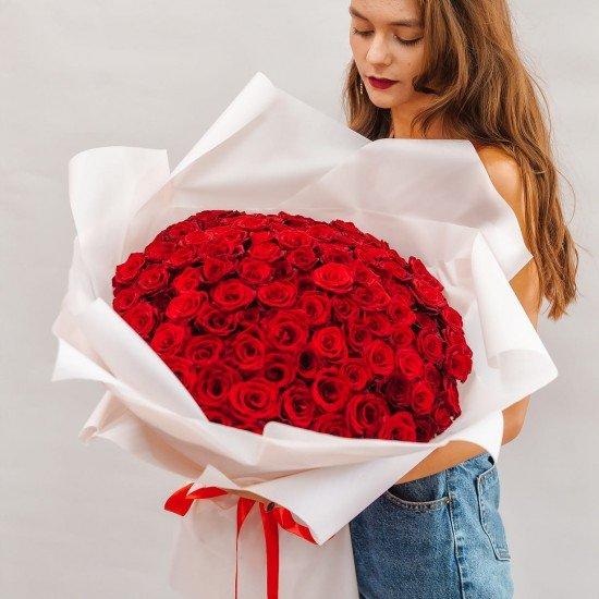 «101 роза NEW»