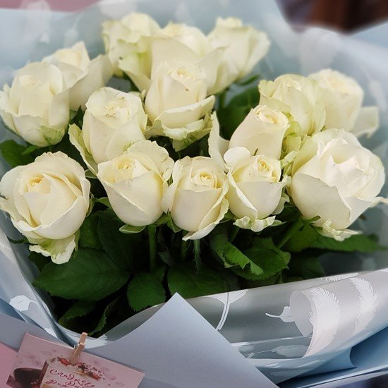 «15 белых роз»
