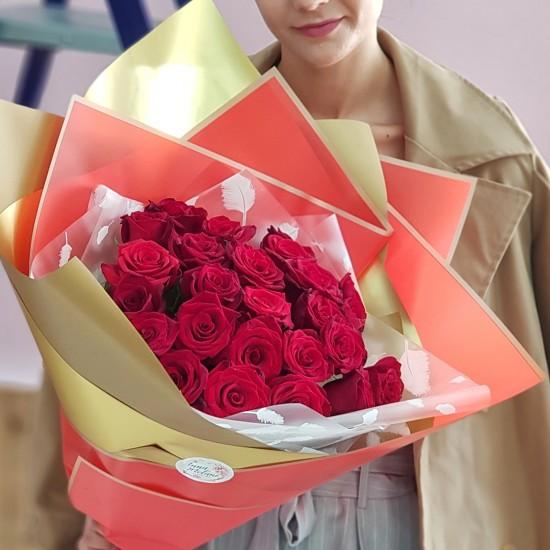 «25 красных роз»