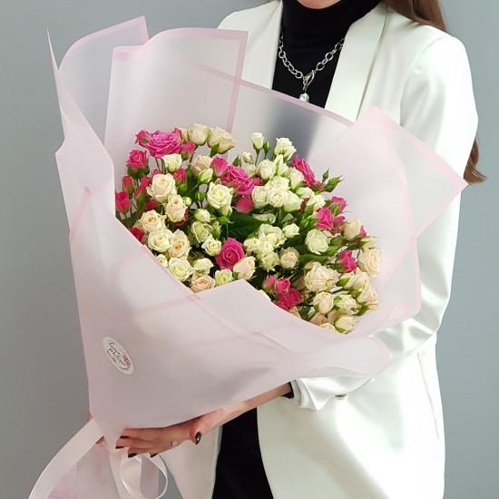 «25 кустовых роз»